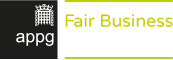 All Party Parliamentary Group on Fair Business Banking Logo